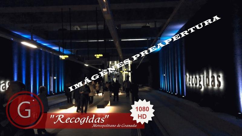 GRANADA METRO RONDA Interior de la Estación del Metropolitano Recogidas