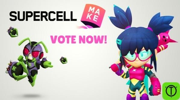 На сайте make.supercell.com идёт голосование за скин который