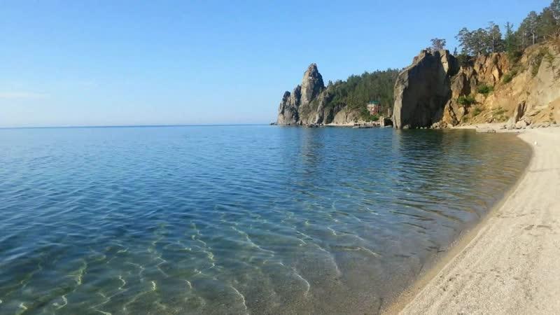 Байкал,бухта Песчаная и бухта Бабушка ,июль 2013г-Снято на смартфон 6 лет назад