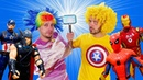 Игры для мальчиков - Что круче Бластер Нерф или оружие Супергеров – Видео приколы онлайн.
