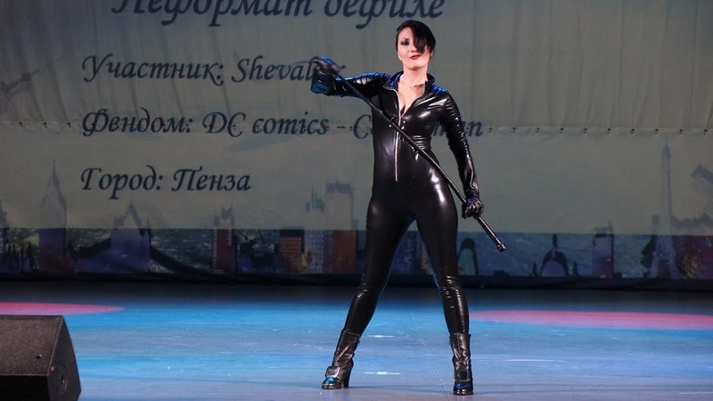 Chebicon 2019 Catwoman - DC Comics Сosplay Defile