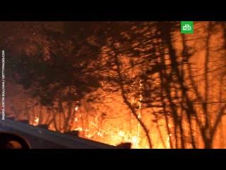 Огненный апокалипсис в Калифорнии