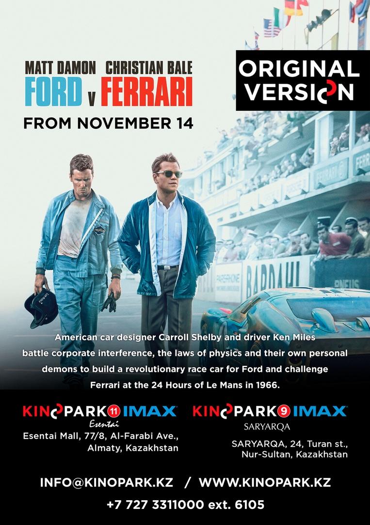 Ford v. Ferrari ENG ORIG