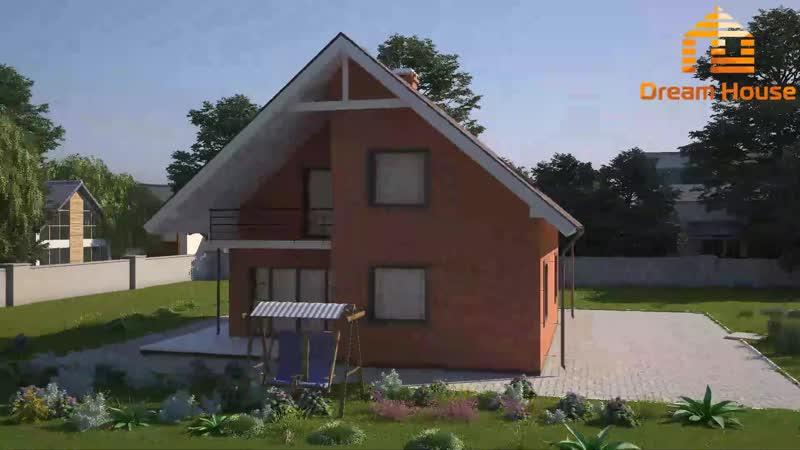 DH(Z)130mk - Дом 130 м². Цена от 2 560 000 ₽.