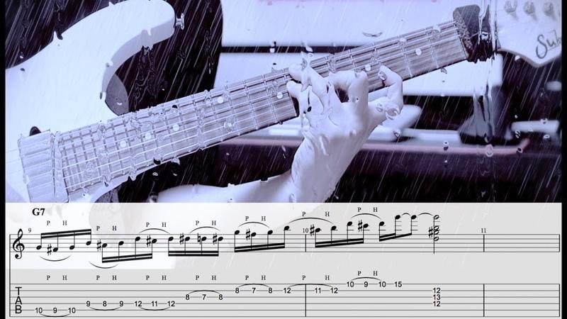 Minor Solo Guitar Jazz Lick GUITAR LESSON TV