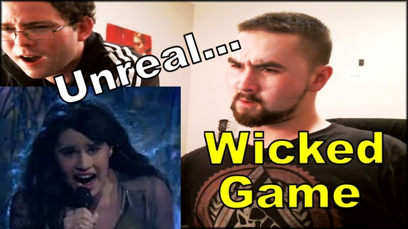 Phenomenal Diana Ankudinova Wicked Game REACTION Диана Анкудинова 15 лет г Москва