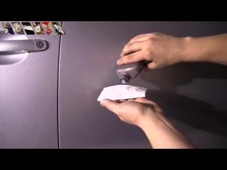 Как удалить царапины с кузова своими руками