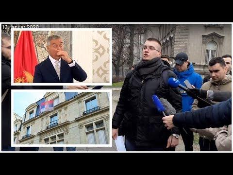 Predsedništvo Srbije studenti Hitno izbaciti Milove diplomate iz srpskih ambasada