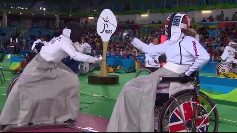 Паралимпийское фехтование