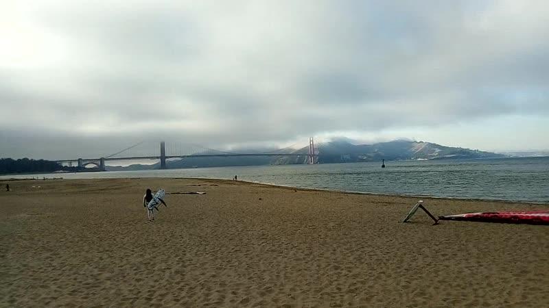 Мост Золотые ворота Сан Франциско США
