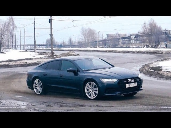 Audi A7. Жесткий тест-драйв. Anton Avtoman.