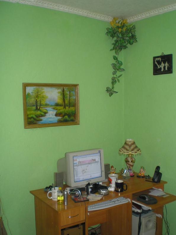 Рабочий стол Артёма Звёздина