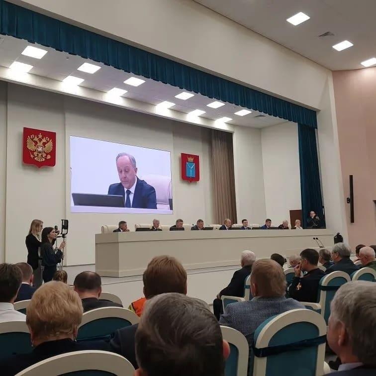 Делегация Петровского района участвует в заседании актива Саратовской области