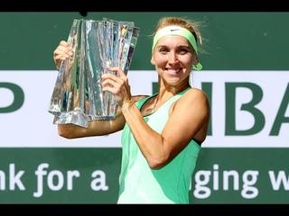 2017 BNP Paribas Open Final   Elena Vesnina vs Svetlana Kuznetsova   WTA Highlights