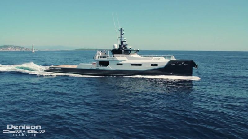 JOY RIDER Damen Sea Axe Yacht Support Vessel Walkthrough