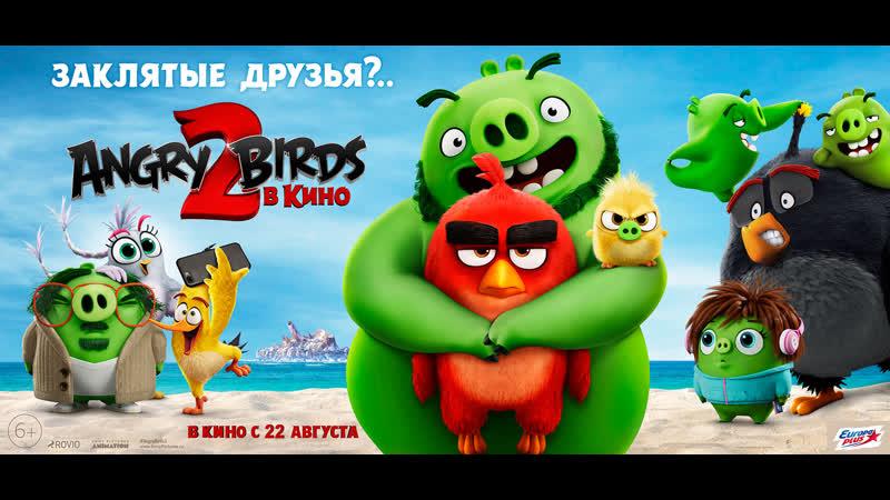 Angry Birds 2 в кино в к-т ДК Чердаклы с 22 августа