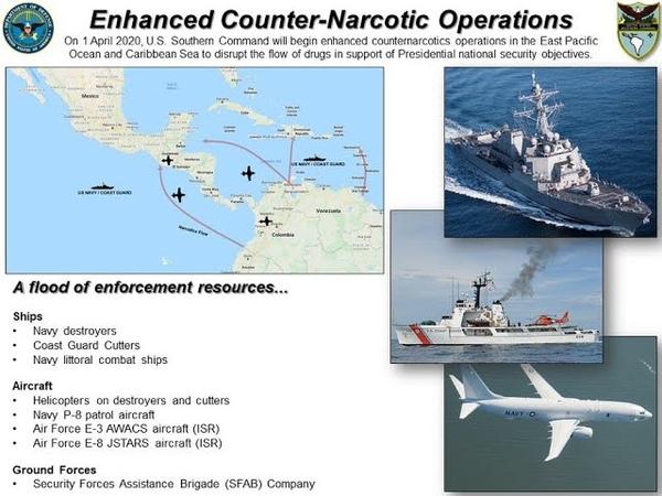 Por que os Estados Unidos estão enviando navios para a Venezuela