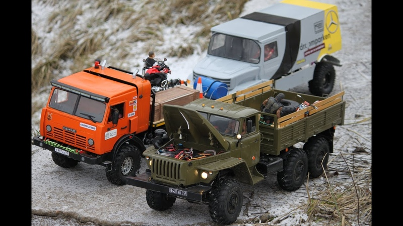 RC Expedition Offroad RC КамАЗ 4911 Extreme Урал 4320 6х6 Toyota Land Cruiser и другие