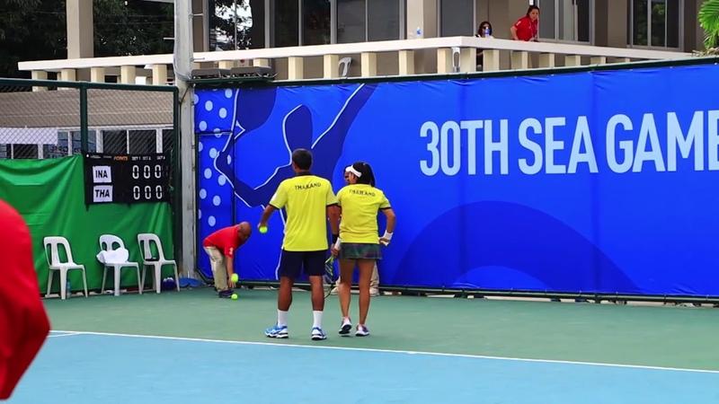 Игры Юго-Восточной Азии 2019. Теннис. Микст. Финал. Индонезия - Таиланд
