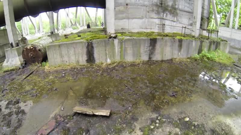 Chłodnia kominowa 5 i 6 bloku Elektrowni w Czarnobylu 06.2014
