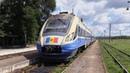 Дизель поезд Д1М 005 на ст Пырлица D1M 005 DMU at Pirlita station