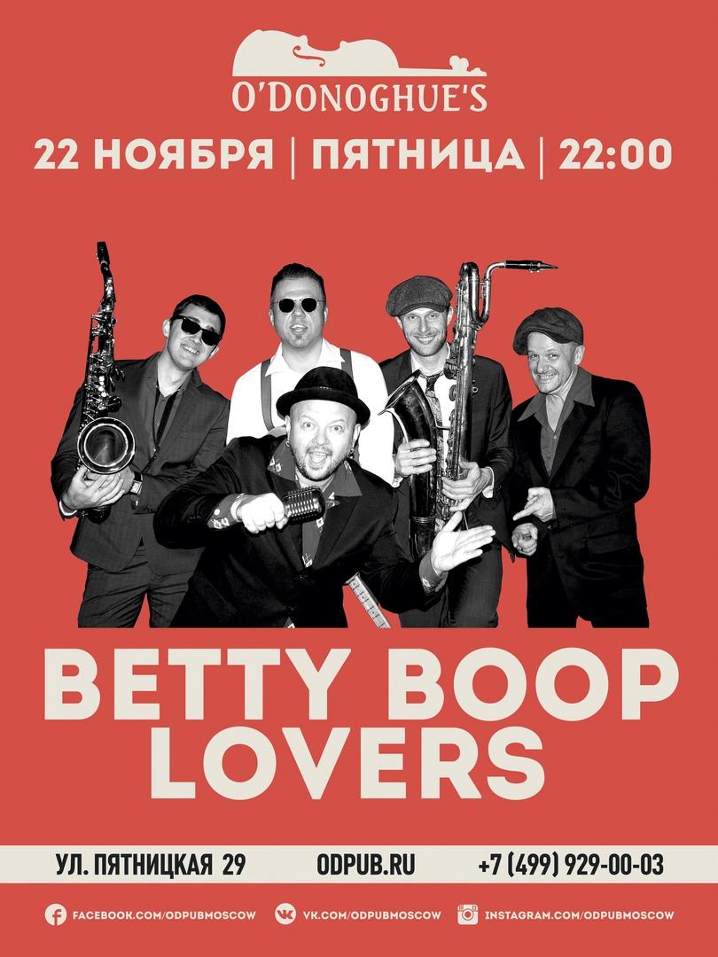 22.11 The Betty Boop Lovers в O'Donoghues Pub!