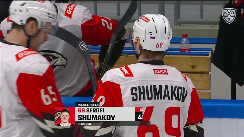 Shumakov roofs one to secure Avangard lead