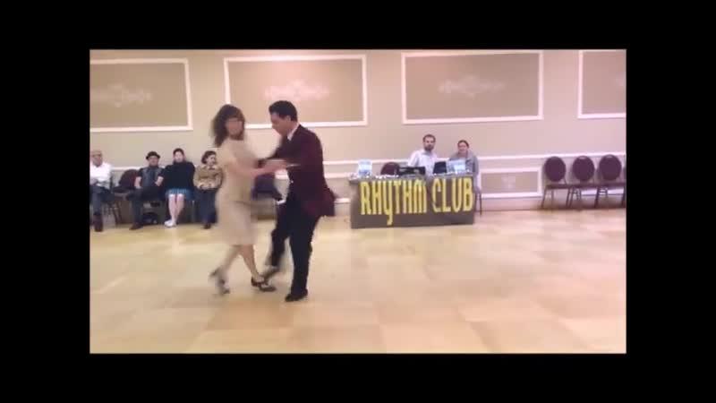Band ODESSA Пусть говорят что мы не пара Танцуют Сандра Рёттиг и Штефан Зауэр