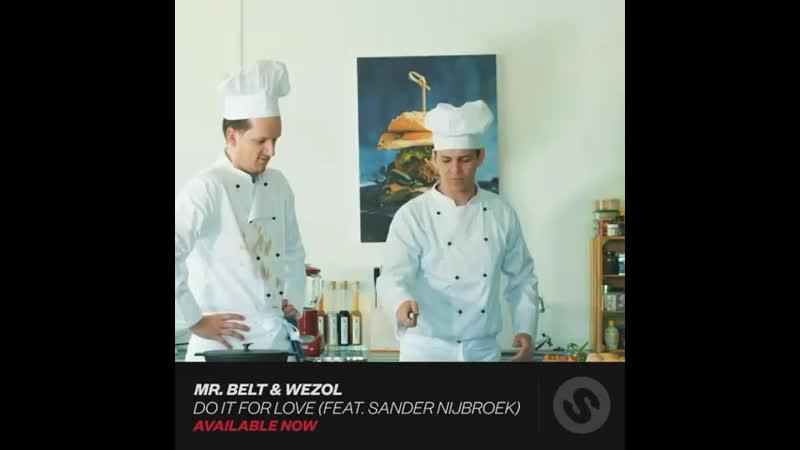 Mr. Belt Wezol Do It For Love feat. Sander Nijbroek AVAILABLE NOW