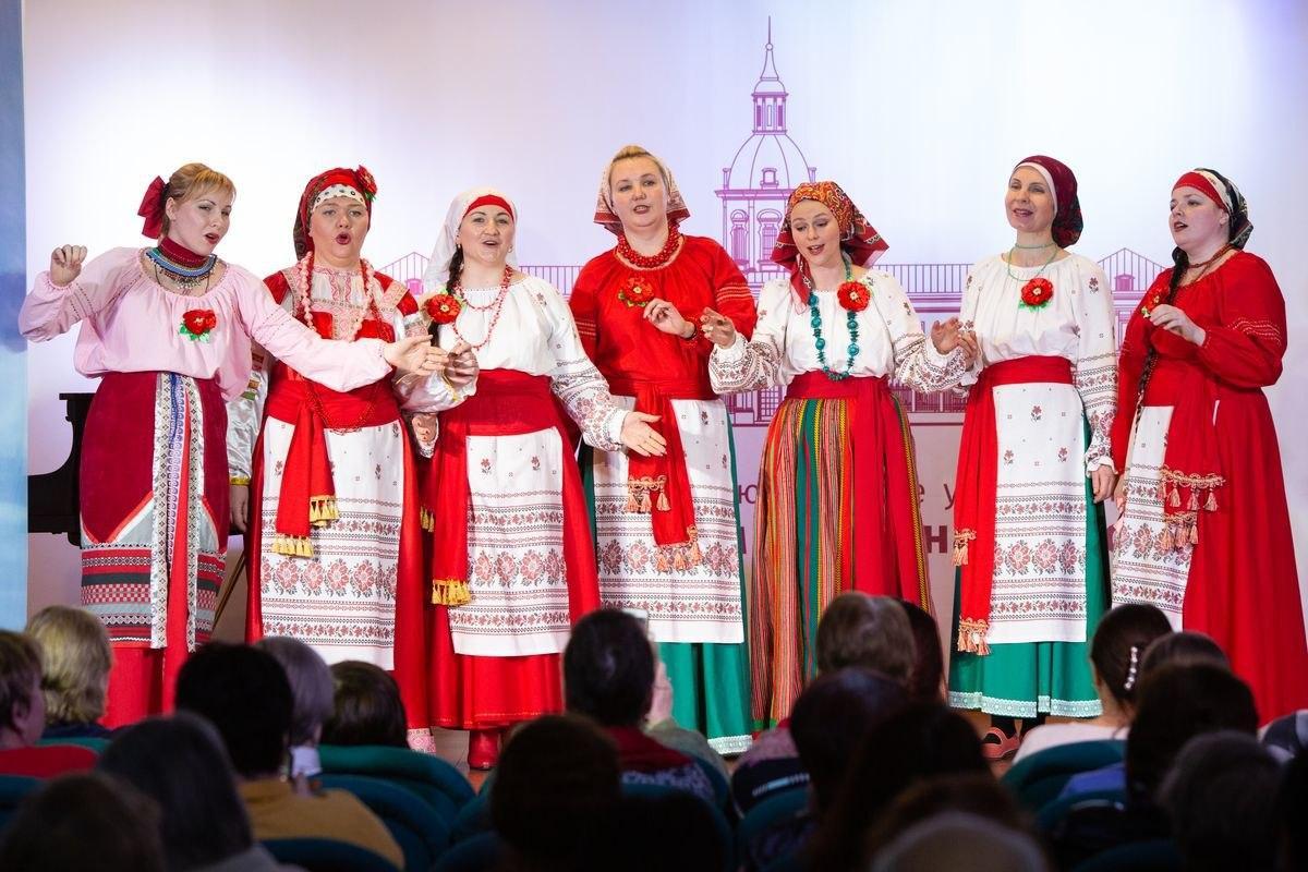 Фольклорный коллектив храма Покрова в Некрасовке принял участие в концерте «Мелодии Нашей Страны»