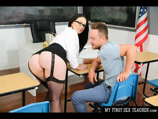 Brooke Beretta - Professor Miller is Horny and Wet for her Student - All Sex MILF Big Tits, Porn