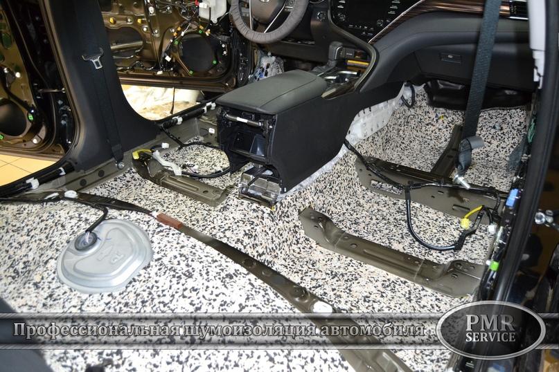 Комплексная шумоизоляция Toyota Camry, изображение №4