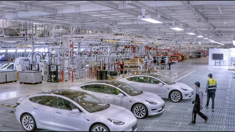 Tesla Gigafactory 3 Insider Official video