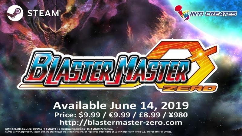 Blaster Master Zero Official Trailer Steam