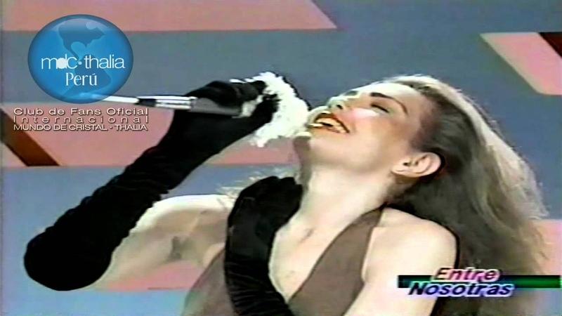 Thalia Sangre Entre Nosotras Con Lola Vilar PERU 1993