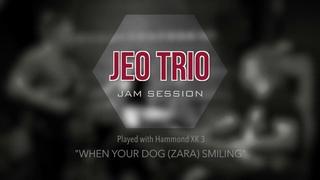 JEO Trio - When Your Dog (Zara) Smiling (Jam Session)