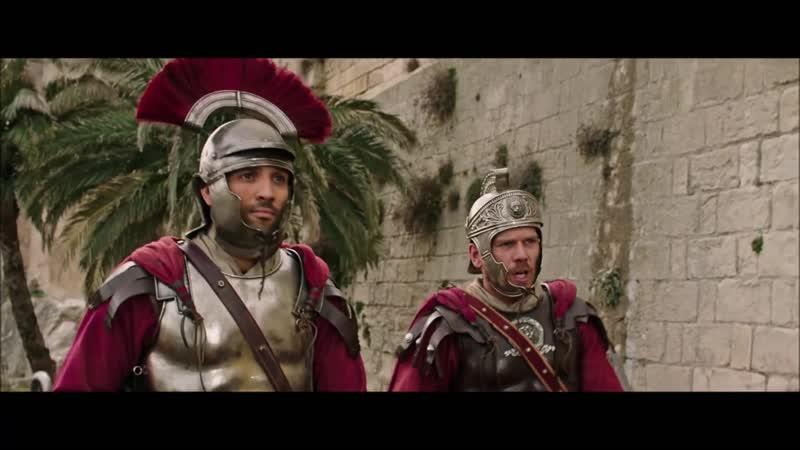 Римские легионеры входят в Иерусалим Бен Гур 2016 Full