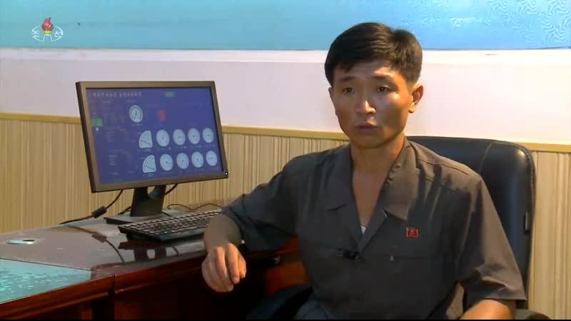 증산돌격운동에서 앞장선 비결 -3중3대혁명붉은기 희천제사공장-