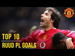 Ruud van Nistelrooys. Top 10 Premier League Goals. Manchester United
