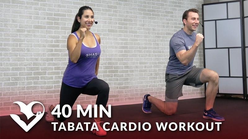HASfit Tabata Cardio Workout without Equipment Abs Табата тренировка для похудения для начального и среднего уровня подготовки