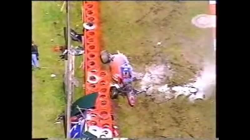 Страшная авария Йоса Ферстаппена в 96 м только посмотрите как подлетела машина
