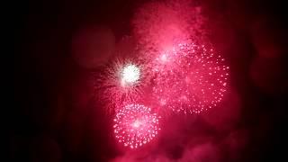 Фейерверк в честь празднования дня Защитника Отечества в городе Великие Луки 23 02 2020