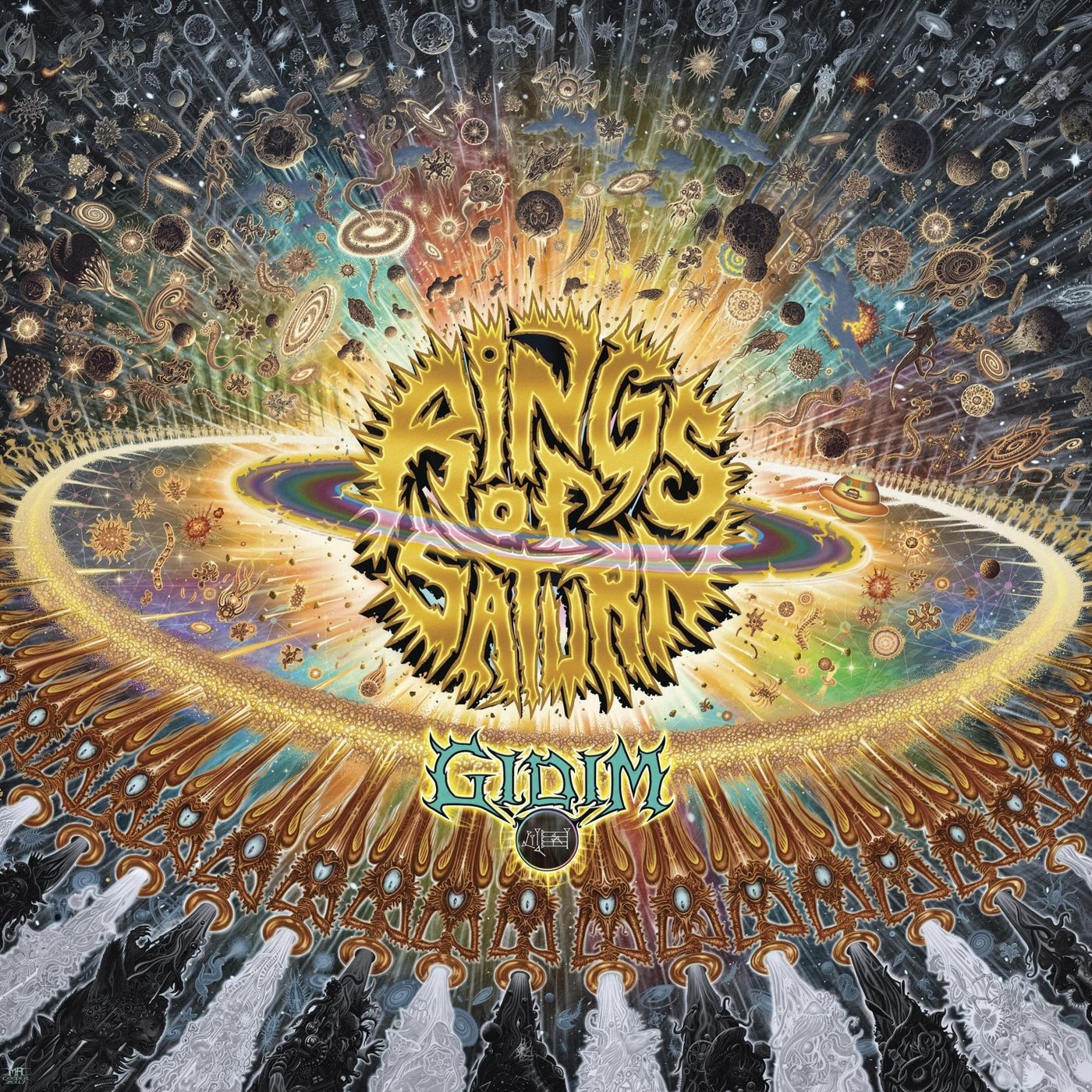 Rings of Saturn - The Husk [single] (2019)