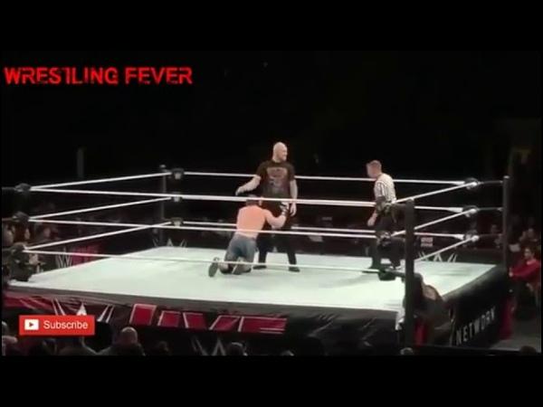 WWE Live Event MSG 28 12 18 John Cena vs Baron Corbin