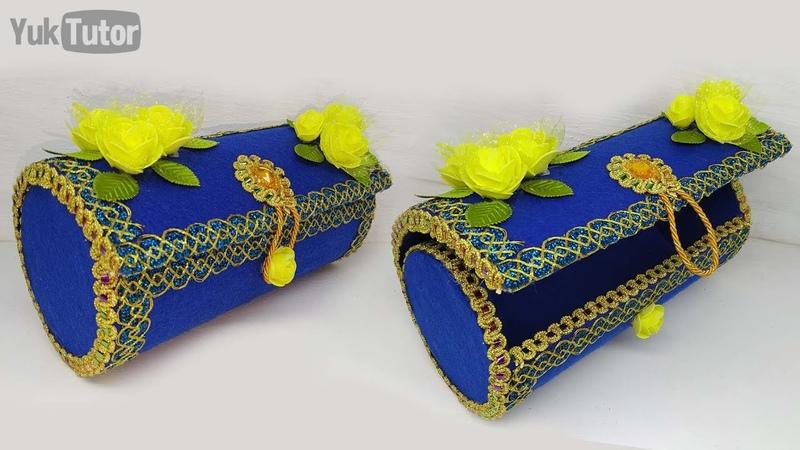 181) Ide kreatif - Tutorial tas mewah dari kardus    Best recycle ideas