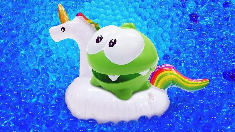 Смешные мультики для малышей - Ам Ням и аквариум с водой - Приключения Ам Няма