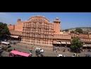 7. Лучший вид на дворец ветров Хава Махал, кафе Wind view. Борьба за альфа-самца. Джайпур.
