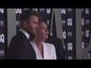 David Victoria and Brooklyn Beckham Nicole Kidman Tom Jones Taron Egerton attend the GQ Men of t