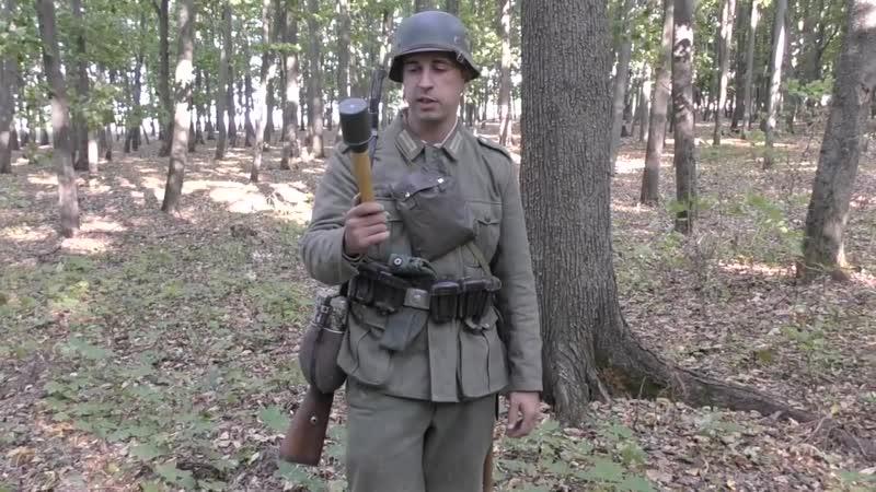Немецкая ручная граната М24 / German hand granade M24