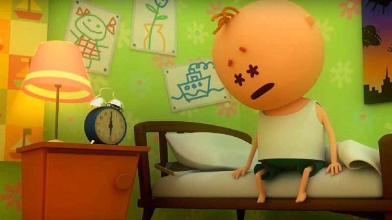 Аркадий Паровозов Почему нужно соблюдать режим дня мультфильм детям
